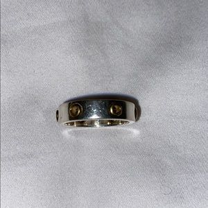 Coach Grommet Ring Sz 8